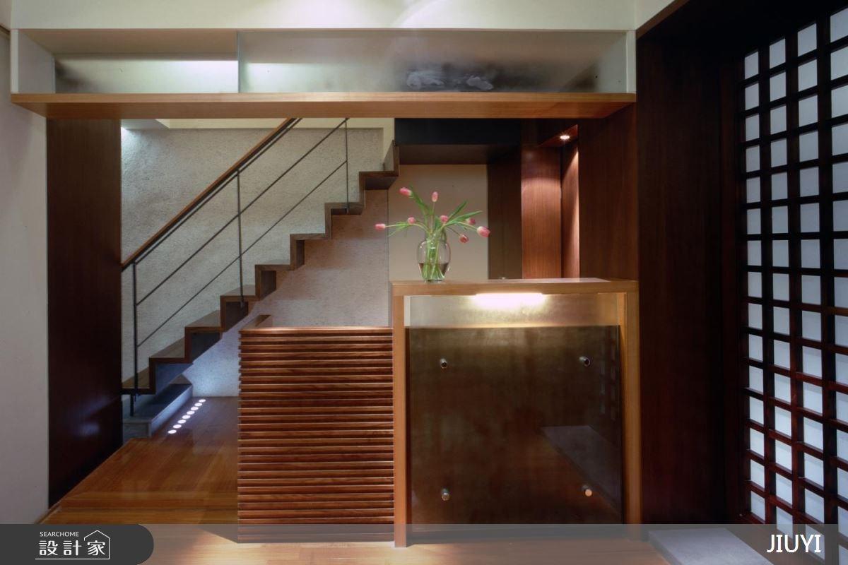 85坪中古屋(5~15年)_人文禪風樓梯案例圖片_俱意設計_俱意_22之3