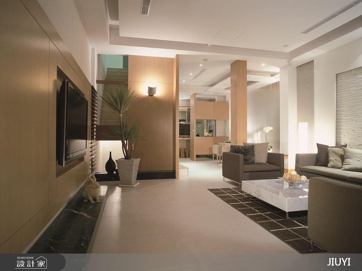 86坪中古屋(5~15年)_現代風客廳餐廳案例圖片_俱意設計_俱意_24之2