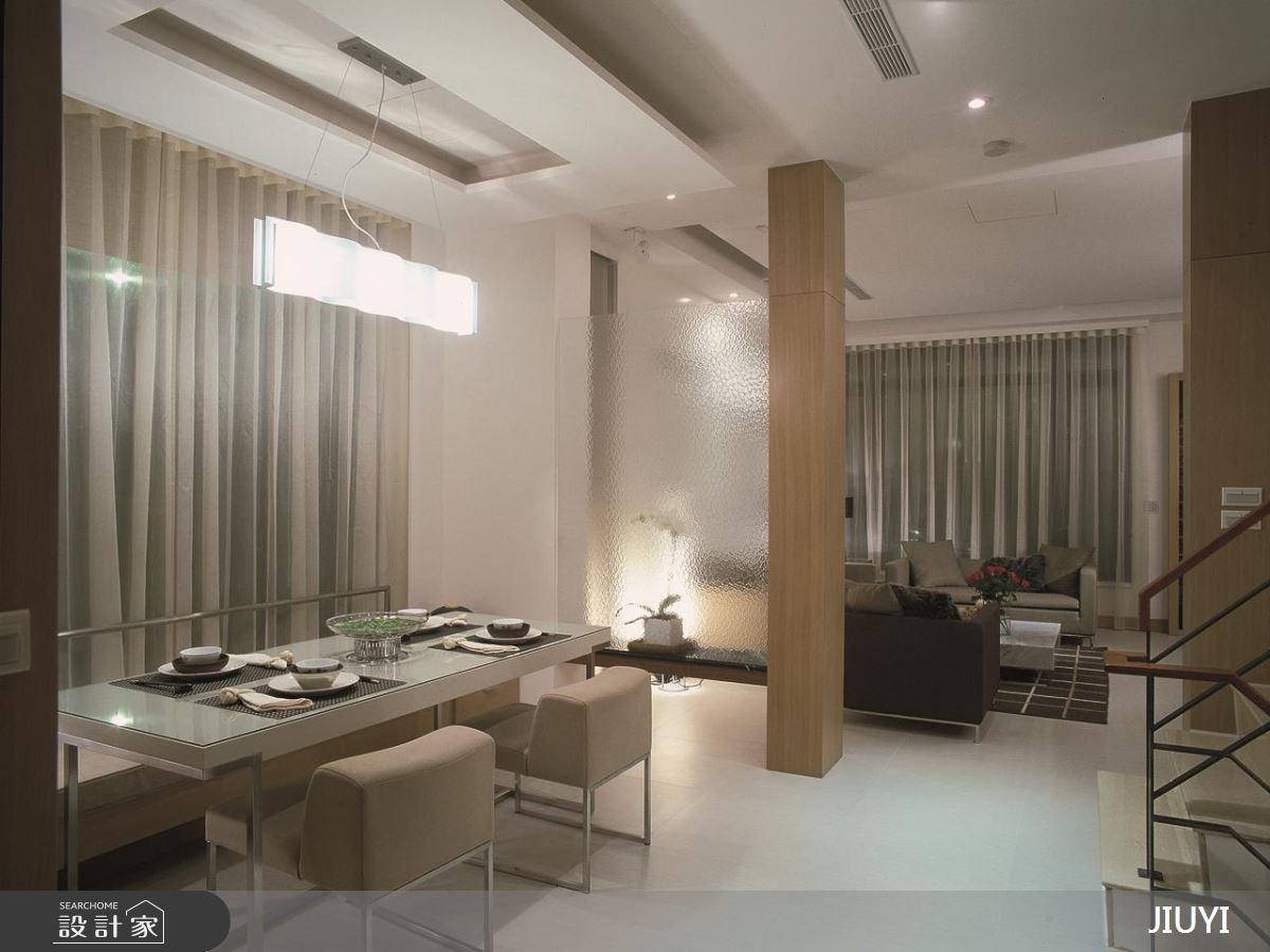 86坪中古屋(5~15年)_現代風客廳餐廳案例圖片_俱意設計_俱意_24之4