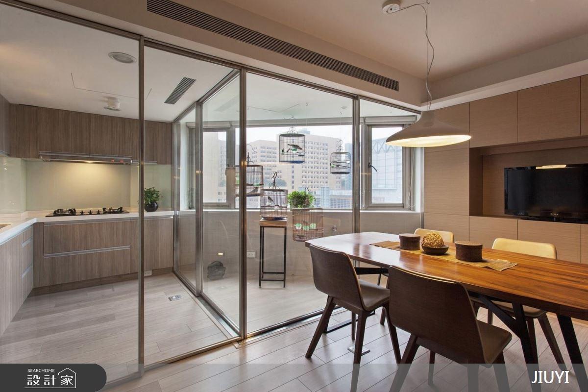 60坪老屋(16~30年)_現代風餐廳廚房案例圖片_俱意設計_俱意_29之2