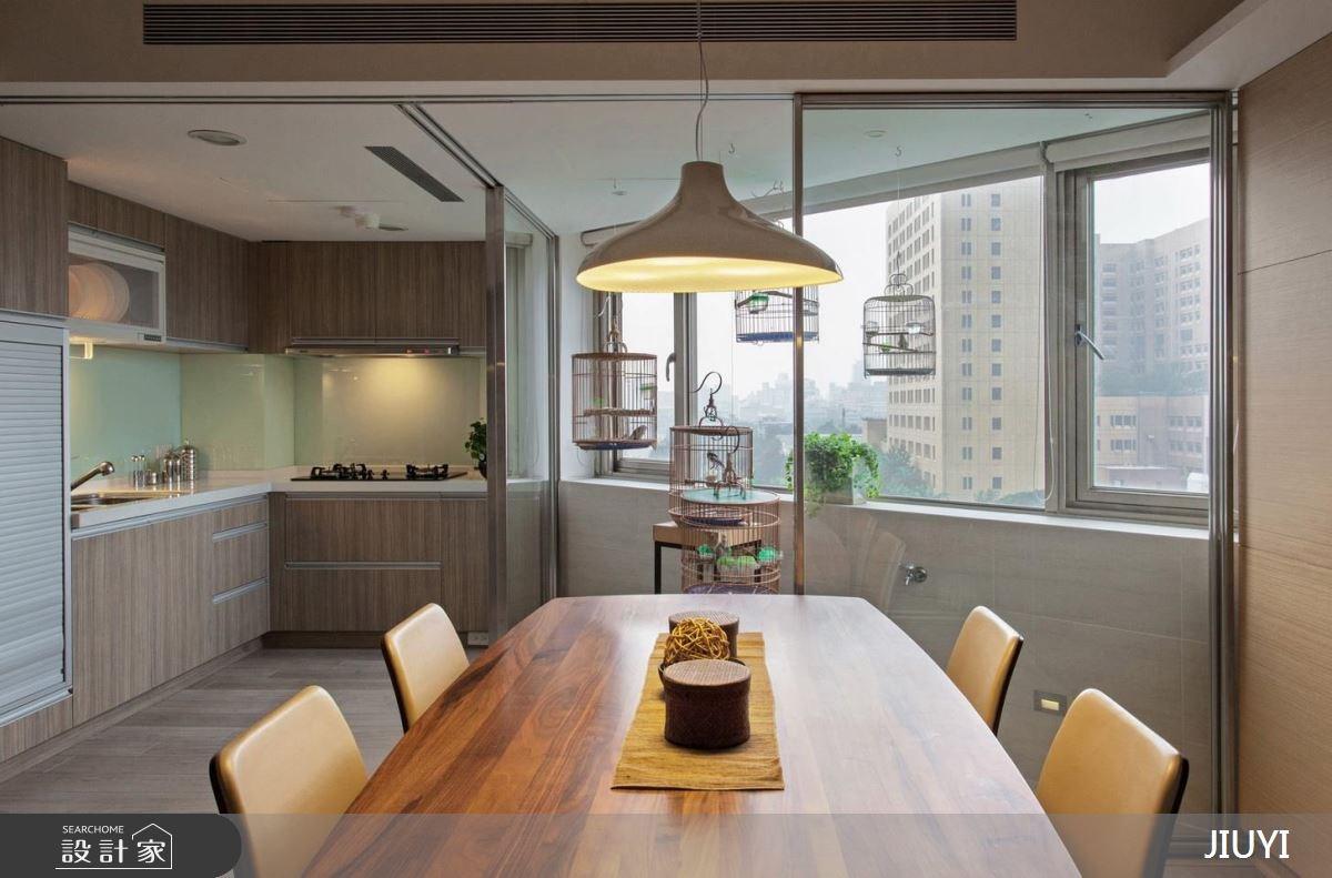 60坪老屋(16~30年)_現代風餐廳廚房案例圖片_俱意設計_俱意_29之4