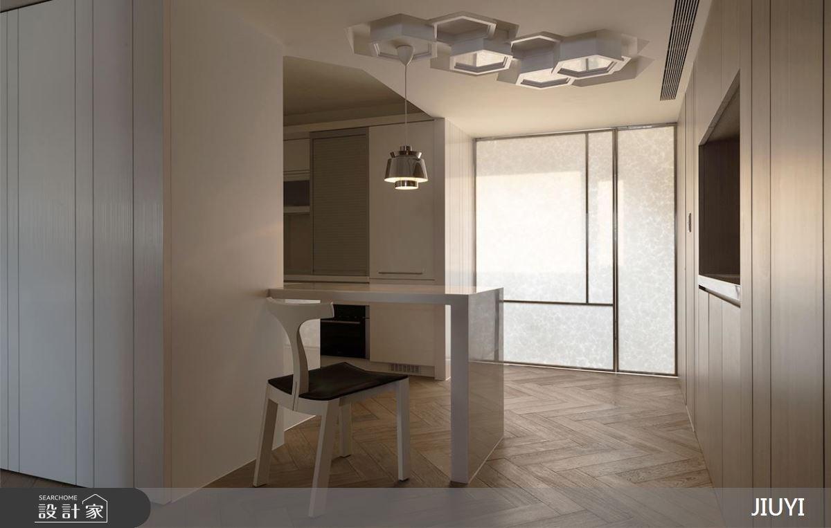 28坪中古屋(5~15年)_現代風廚房吧檯案例圖片_俱意設計_俱意_31之5