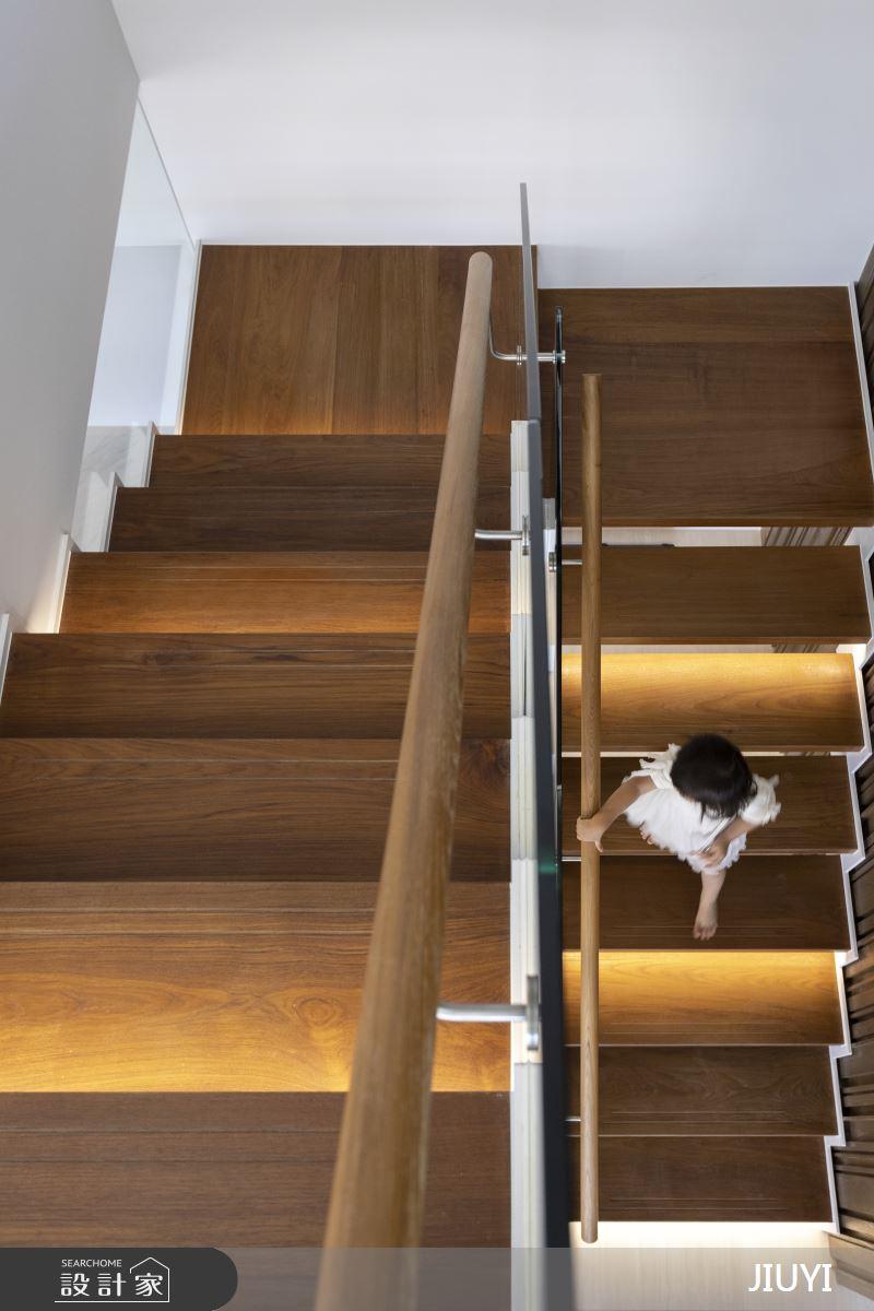 150坪新成屋(5年以下)_現代風樓梯案例圖片_俱意設計_俱意_34之6