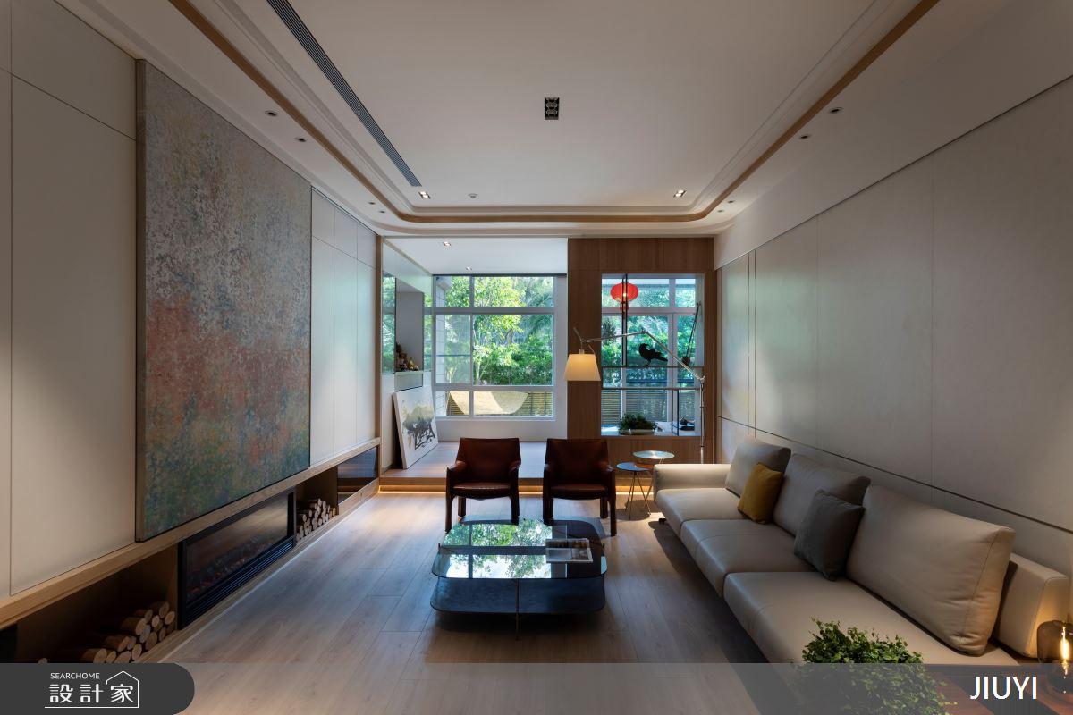 55坪中古屋(5~15年)_混搭風客廳案例圖片_俱意設計_俱意_37之3