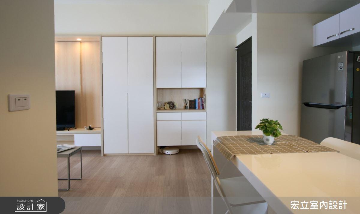16坪新成屋(5年以下)_日式無印風餐廳案例圖片_宏立室內設計_宏立_04之4