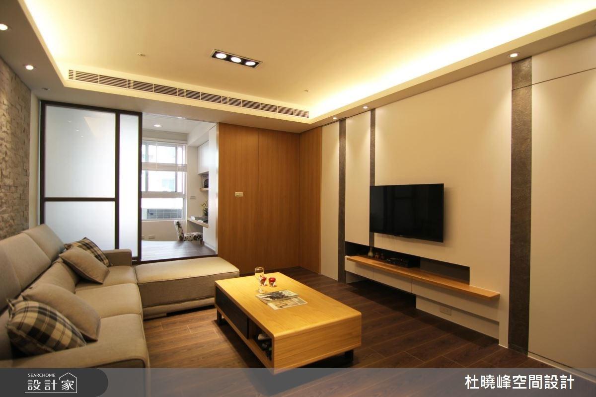 18坪新成屋(5年以下)_休閒風客廳和室案例圖片_杜曉峰澔漢空間設計_杜曉峰_01之2