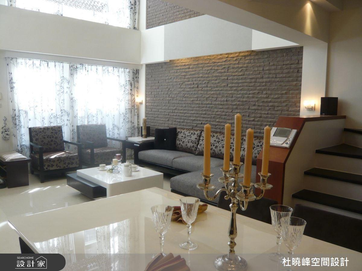 85坪新成屋(5年以下)_休閒風客廳餐廳案例圖片_杜曉峰澔漢空間設計_杜曉峰_06之3