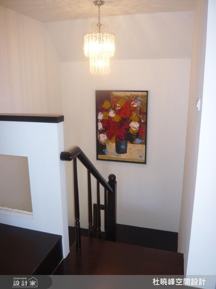 85坪新成屋(5年以下)_休閒風樓梯案例圖片_杜曉峰澔漢空間設計_杜曉峰_06之4
