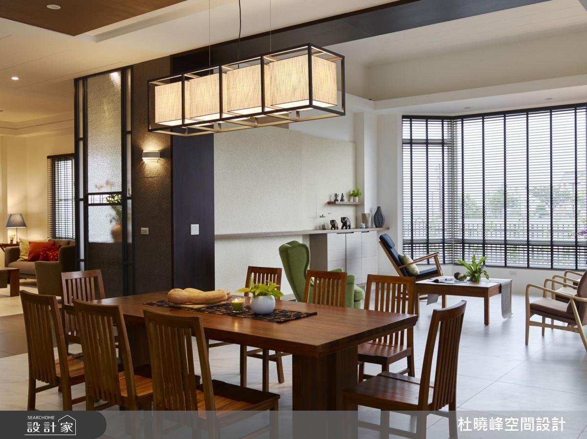 90坪新成屋(5年以下)_鄉村風客廳餐廳案例圖片_杜曉峰澔漢空間設計_杜曉峰_11之2