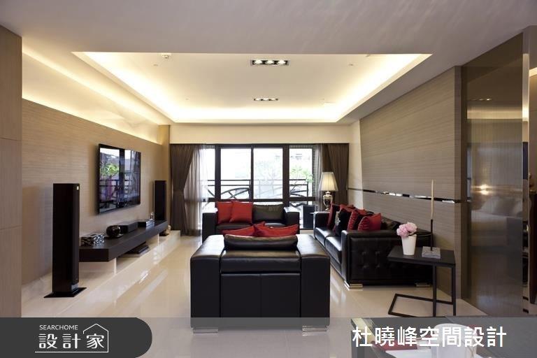 60坪新成屋(5年以下)_現代風客廳案例圖片_杜曉峰澔漢空間設計_杜曉峰_12之4