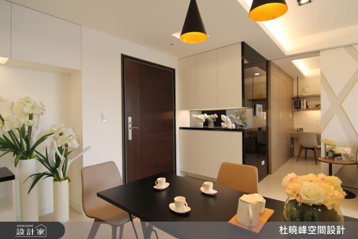 21坪新成屋(5年以下)_北歐風玄關餐廳案例圖片_杜曉峰澔漢空間設計_杜曉峰_13之3