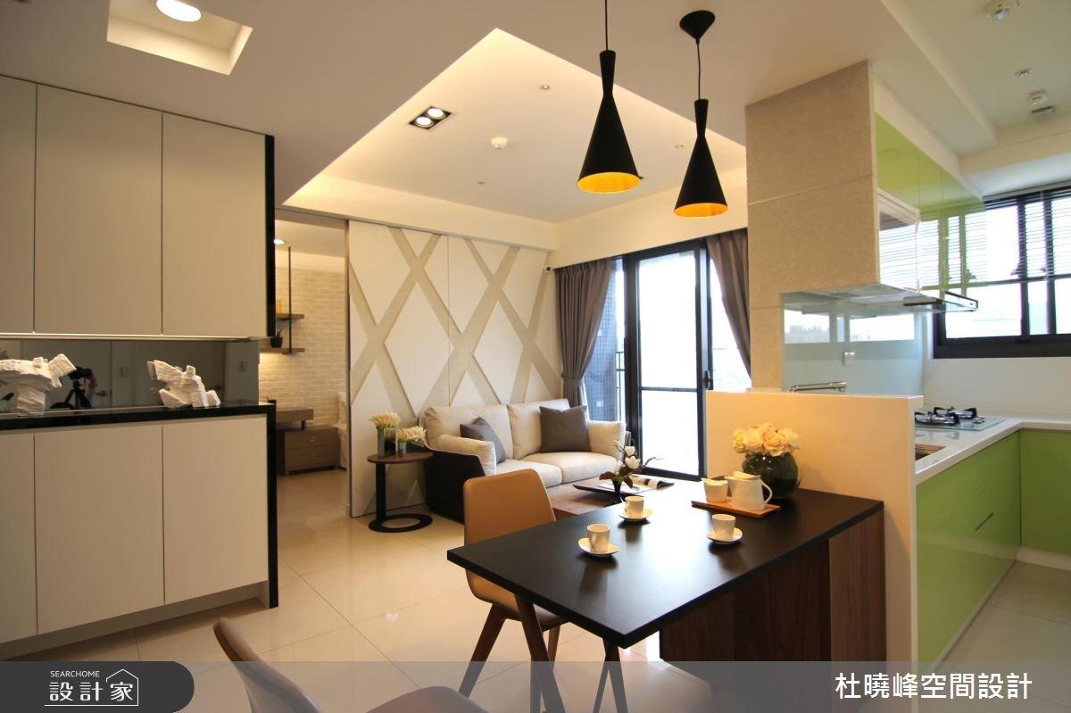 21坪新成屋(5年以下)_北歐風客廳餐廳廚房案例圖片_杜曉峰澔漢空間設計_杜曉峰_13之4
