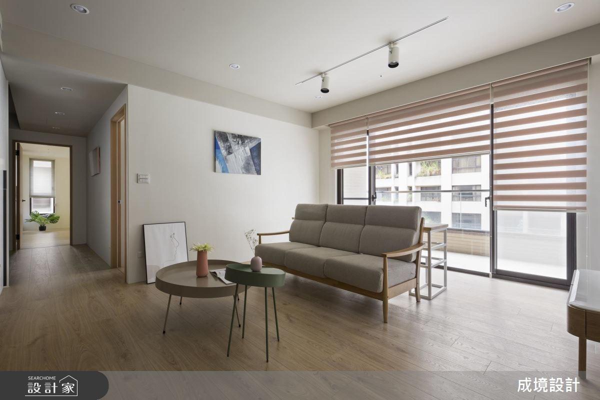 23坪老屋(16~30年)_北歐風客廳案例圖片_成境設計_成境_06之3