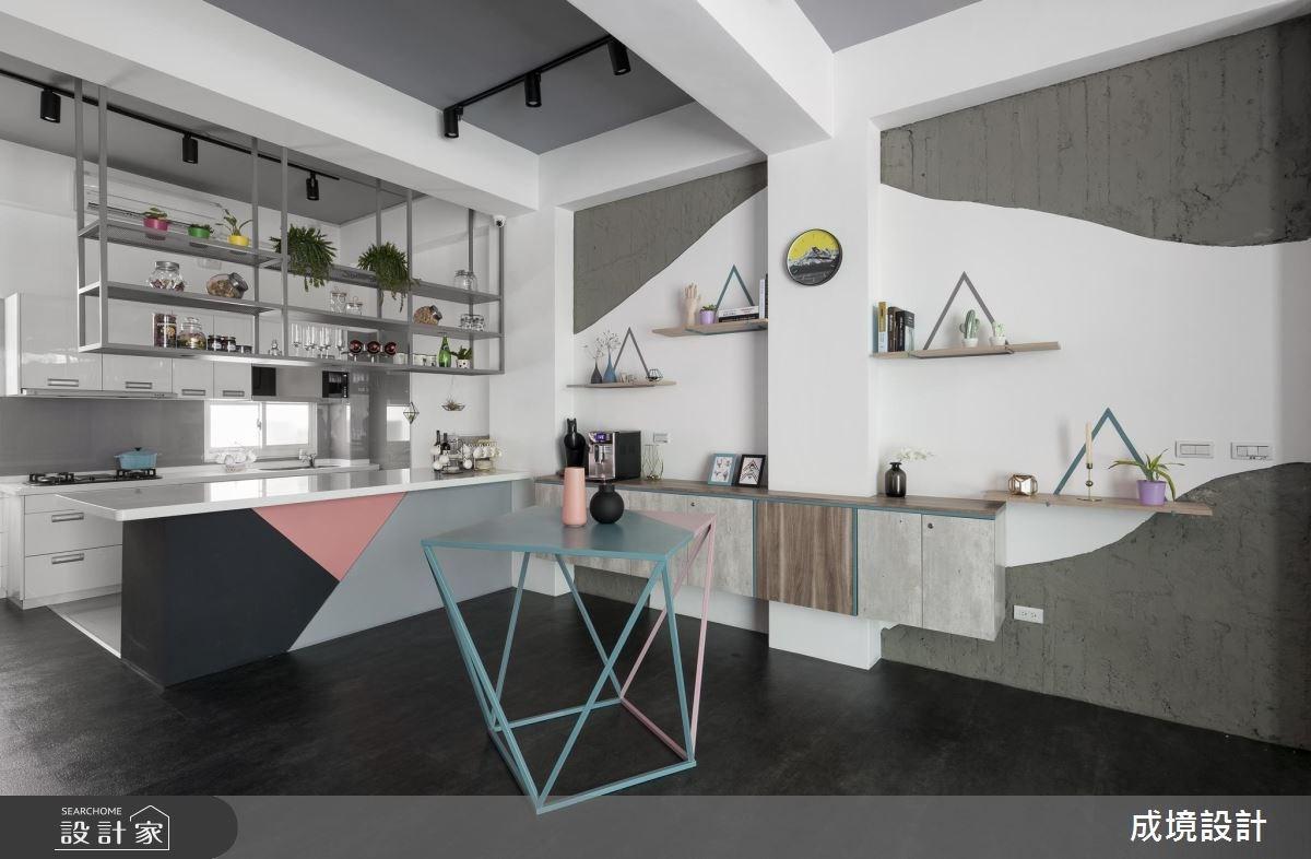 48坪老屋(16~30年)_北歐風商業空間案例圖片_成境設計_成境_07之4