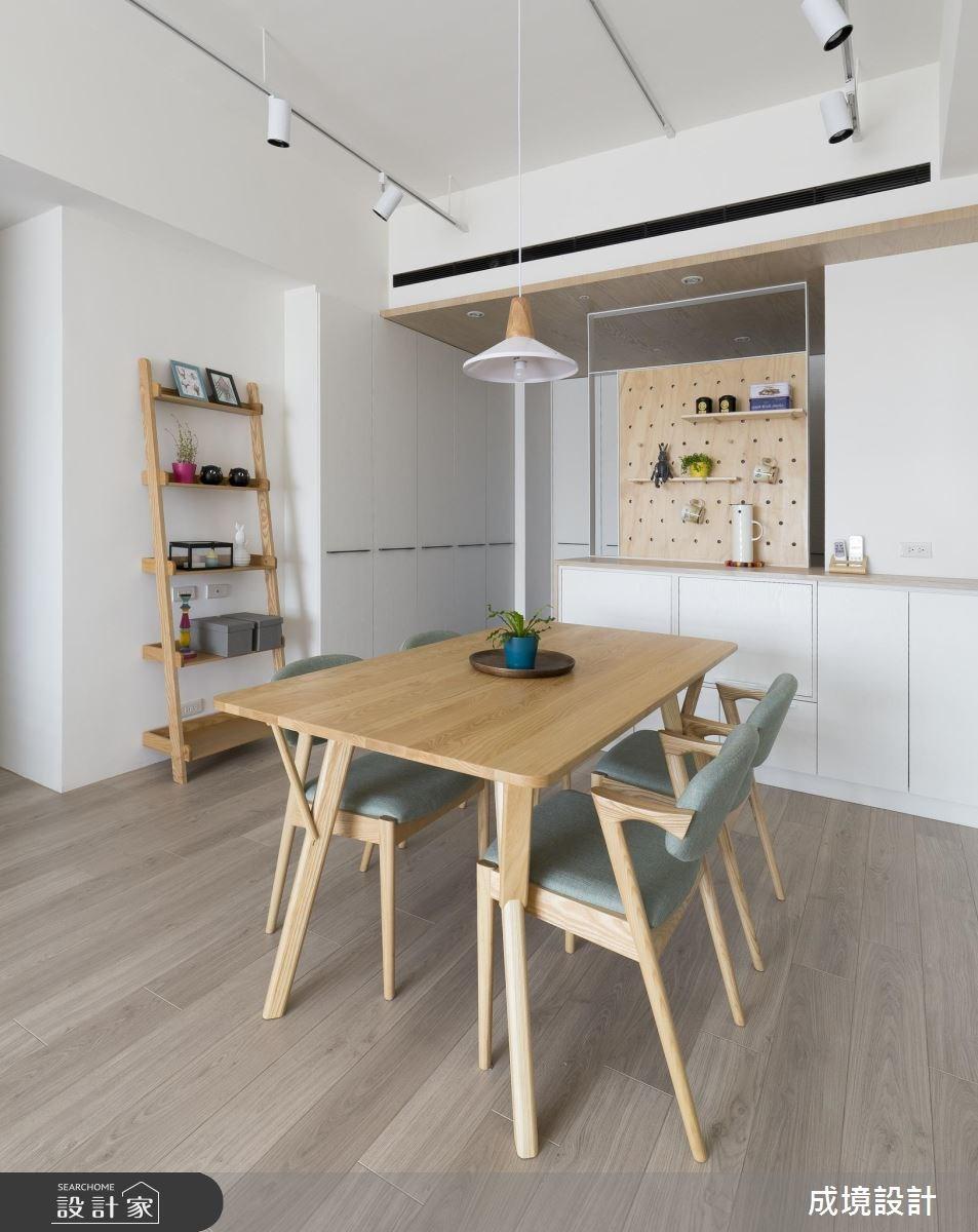 26坪新成屋(5年以下)_北歐風餐廳案例圖片_成境設計_成境_10之2