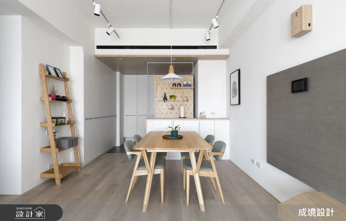 26坪新成屋(5年以下)_北歐風玄關餐廳案例圖片_成境設計_成境_10之3