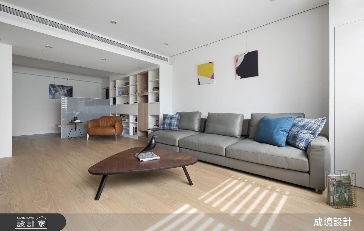 30坪老屋(16~30年)_北歐風客廳書房案例圖片_成境設計_成境_11之5