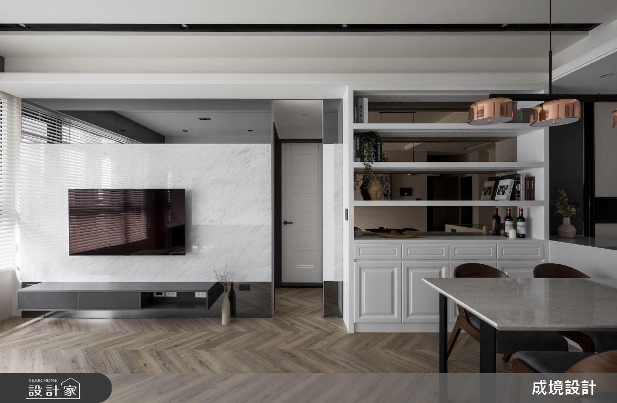 16坪新成屋(5年以下)_北歐風餐廳案例圖片_成境設計_成境_16之4