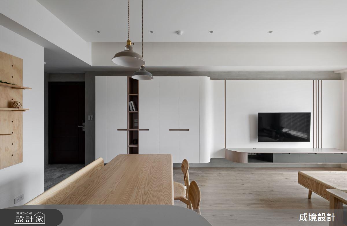 23坪新成屋(5年以下)_北歐風餐廳案例圖片_成境設計_成境_21之5
