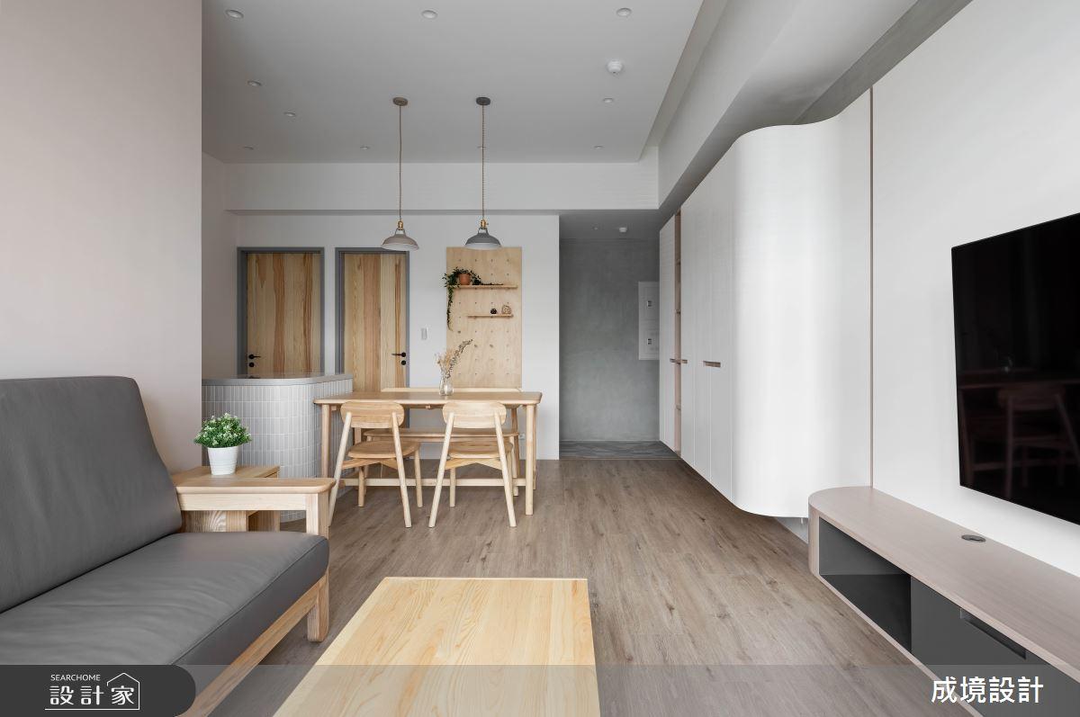 23坪新成屋(5年以下)_北歐風餐廳案例圖片_成境設計_成境_21之6