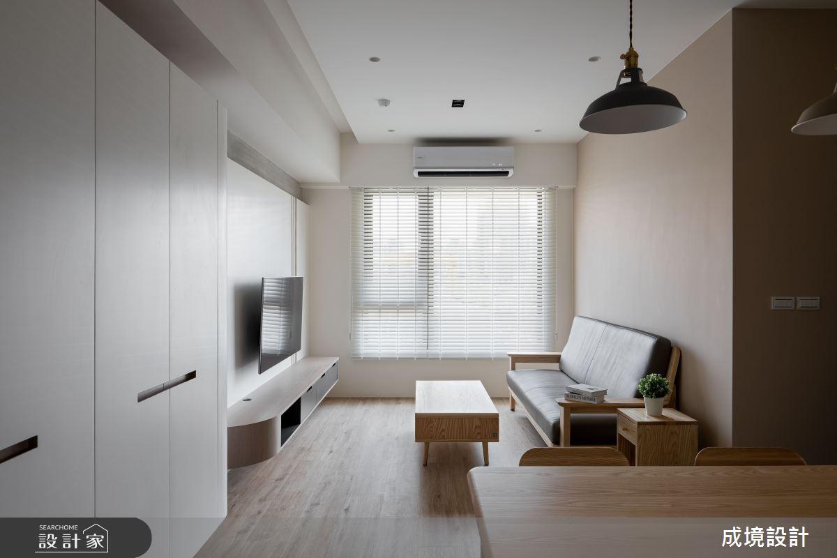 23坪新成屋(5年以下)_北歐風客廳案例圖片_成境設計_成境_21之4