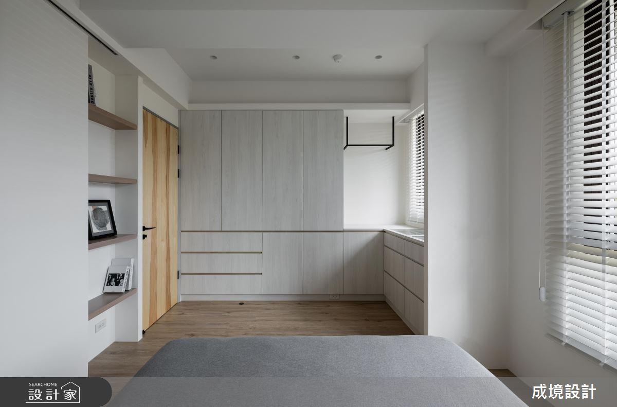 23坪新成屋(5年以下)_北歐風臥室案例圖片_成境設計_成境_21之8