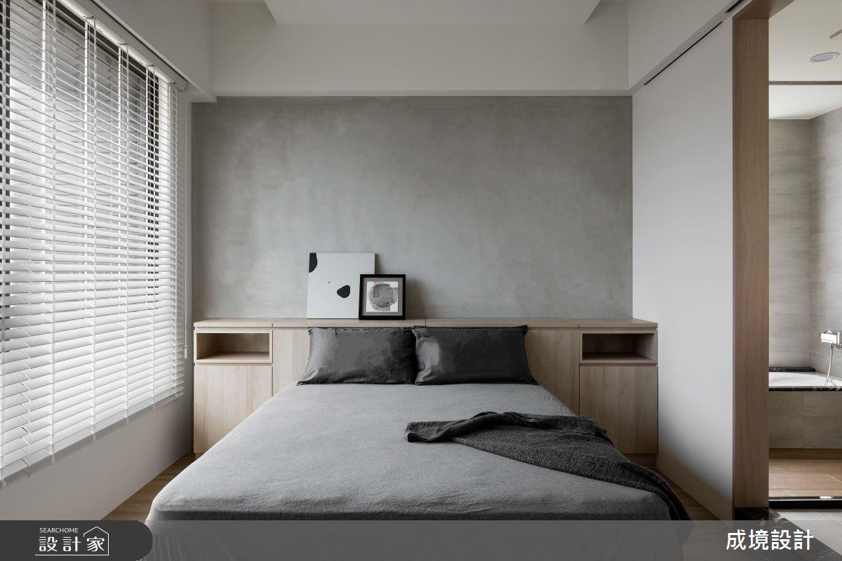 23坪新成屋(5年以下)_北歐風臥室案例圖片_成境設計_成境_21之11
