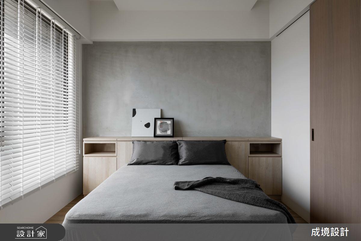 23坪新成屋(5年以下)_北歐風臥室案例圖片_成境設計_成境_21之10