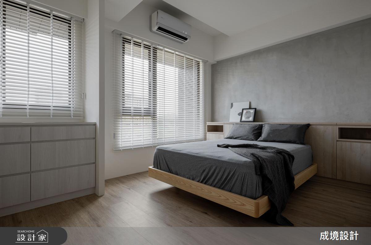 23坪新成屋(5年以下)_北歐風臥室案例圖片_成境設計_成境_21之9