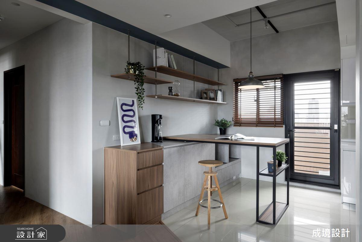 18坪新成屋(5年以下)_工業風案例圖片_成境設計_成境_23之6