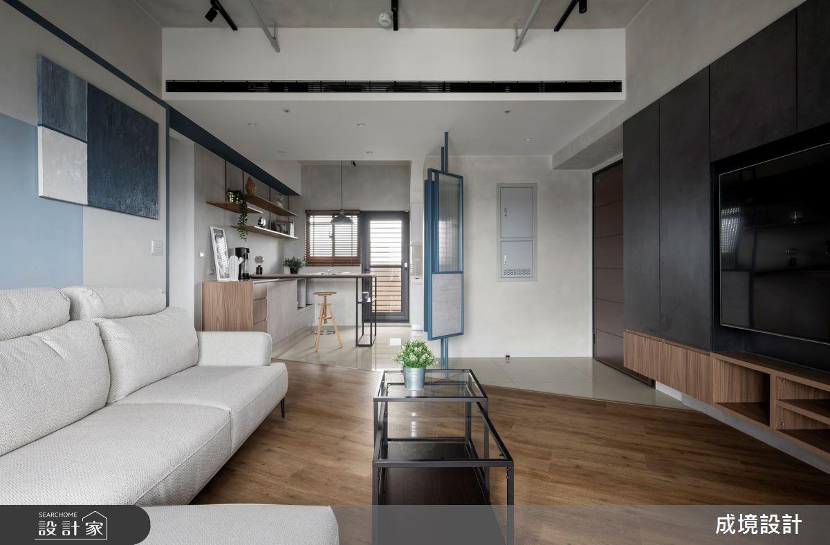 18坪新成屋(5年以下)_工業風案例圖片_成境設計_成境_23之3