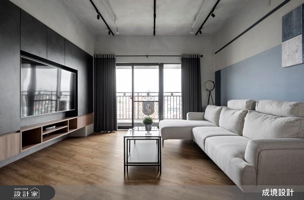 18坪新成屋(5年以下)_工業風案例圖片_成境設計_成境_23之4