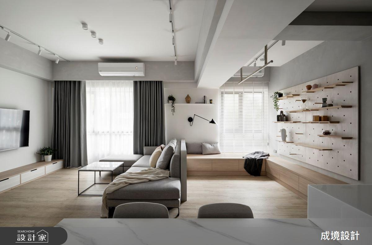 26坪新成屋(5年以下)_北歐風案例圖片_成境設計_成境_25之6