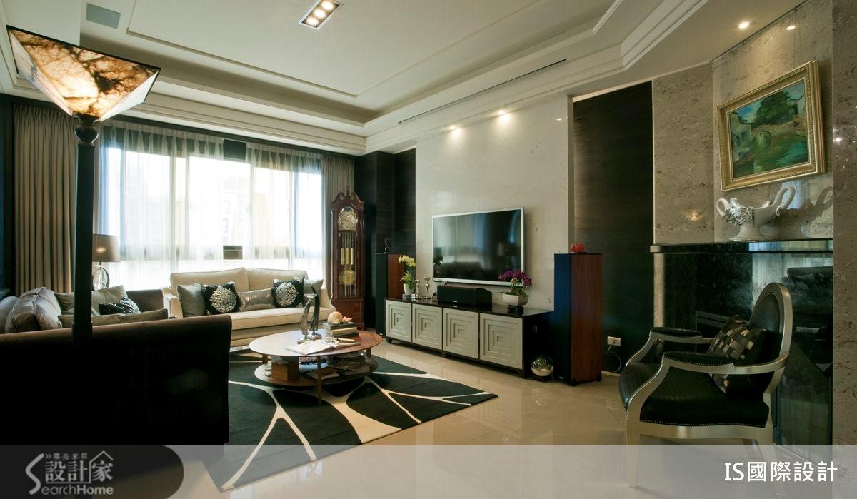 49坪_新古典客廳案例圖片_IS國際設計_IS_99之3