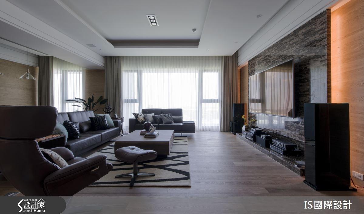100坪新成屋(5年以下)_奢華風客廳案例圖片_IS國際設計_IS_108之2