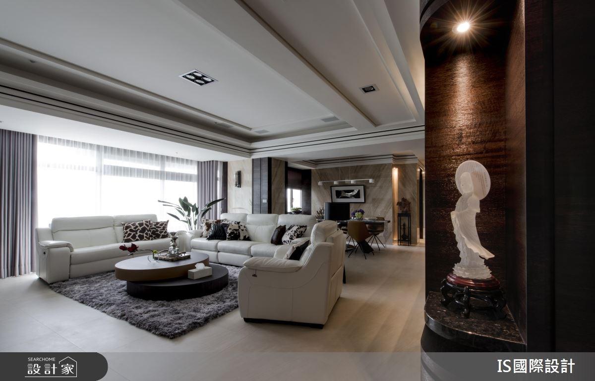 49坪老屋(16~30年)_現代風客廳餐廳案例圖片_IS國際設計_IS_111之3
