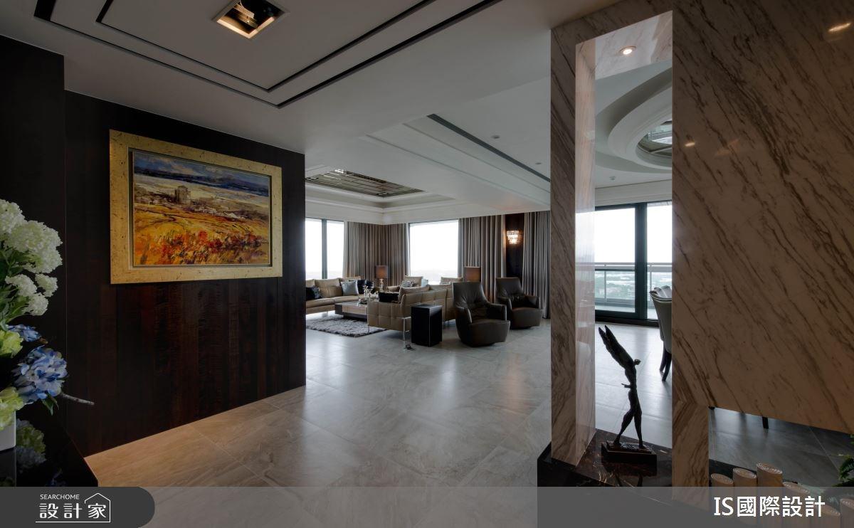 新成屋(5年以下)_混搭風玄關客廳案例圖片_IS國際設計_IS_114之4
