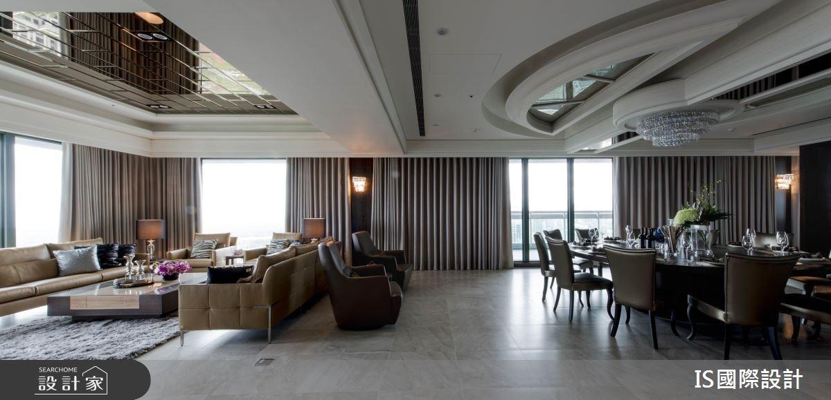 新成屋(5年以下)_混搭風客廳餐廳案例圖片_IS國際設計_IS_114之7