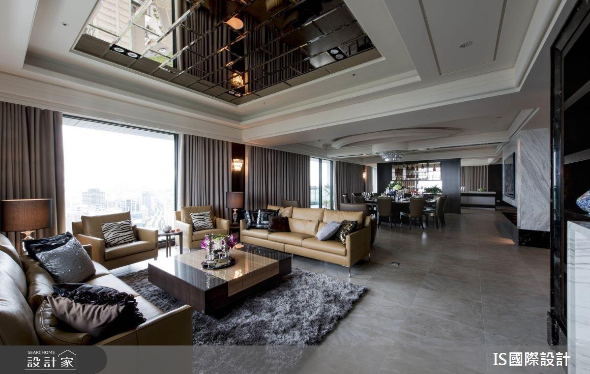 新成屋(5年以下)_混搭風客廳餐廳案例圖片_IS國際設計_IS_114之9