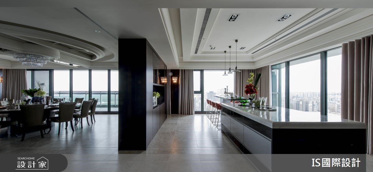 新成屋(5年以下)_混搭風餐廳吧檯案例圖片_IS國際設計_IS_114之21