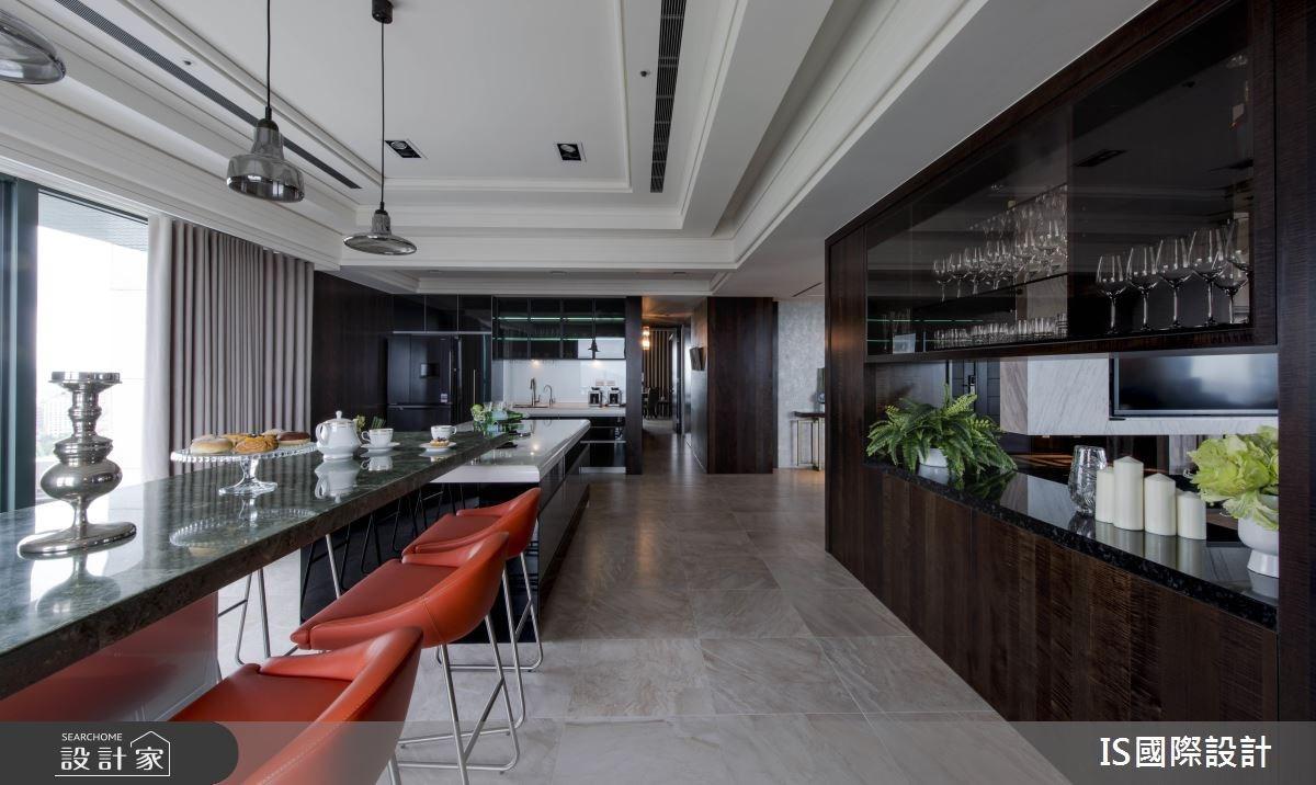 新成屋(5年以下)_混搭風餐廳吧檯案例圖片_IS國際設計_IS_114之23