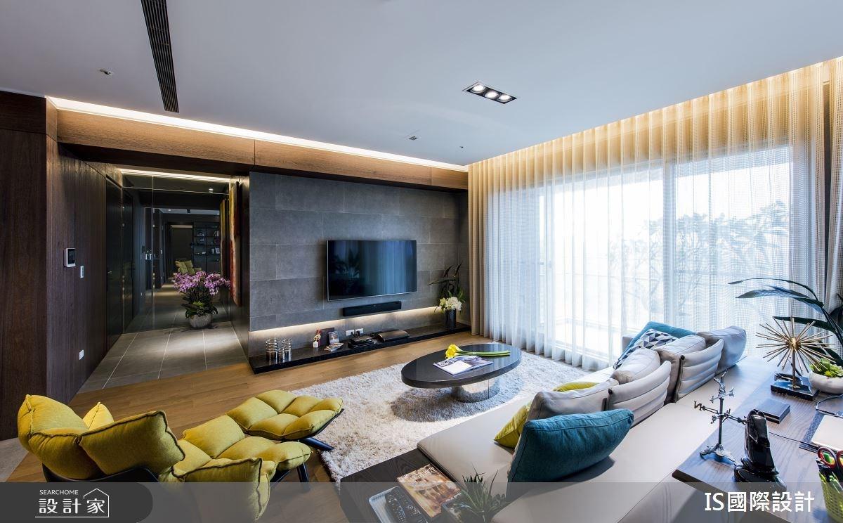 新成屋(5年以下)_現代風玄關客廳案例圖片_IS國際設計_IS_115之3