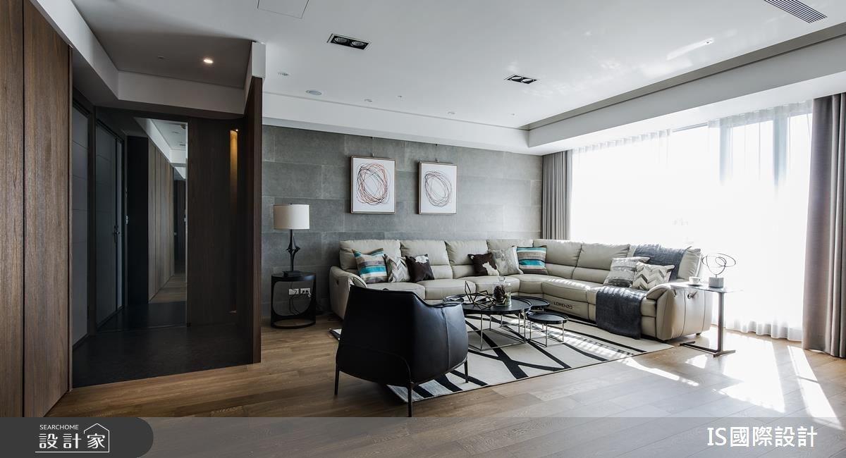 新成屋(5年以下)_現代風客廳案例圖片_IS國際設計_IS_117之2