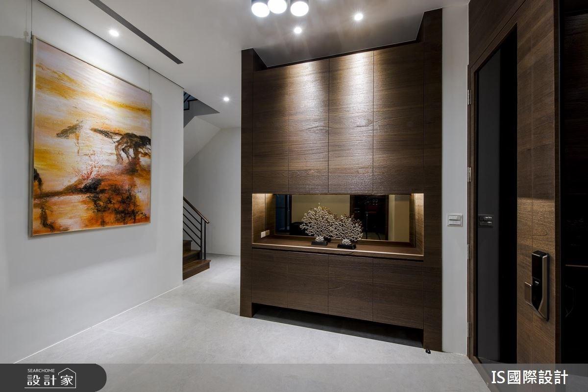 103坪新成屋(5年以下)_現代風玄關案例圖片_IS國際設計_IS_118之2