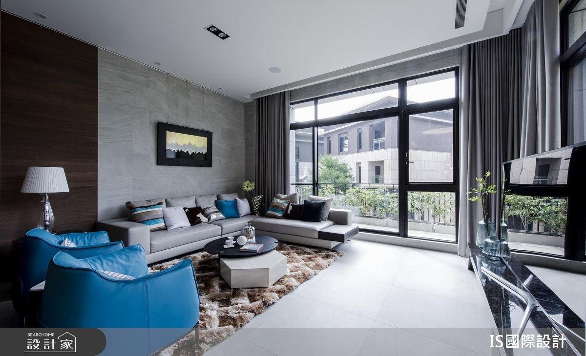 103坪新成屋(5年以下)_現代風客廳案例圖片_IS國際設計_IS_118之3