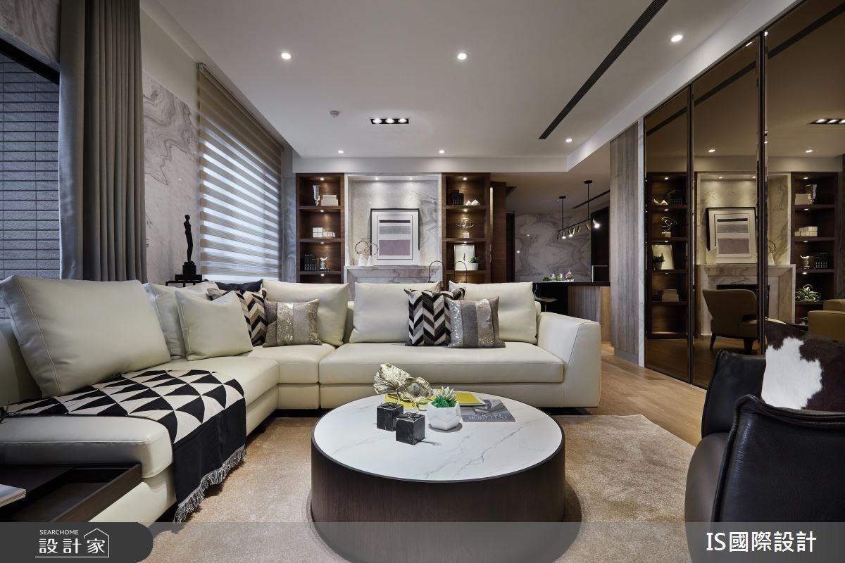 新成屋(5年以下)_現代風客廳案例圖片_IS國際設計_IS_120之3