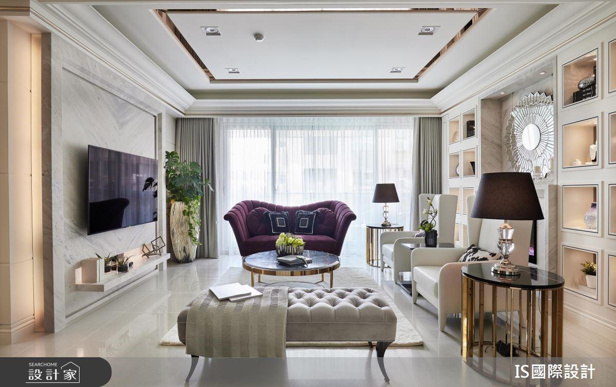 新成屋(5年以下)_新古典客廳案例圖片_IS國際設計_IS_122之2