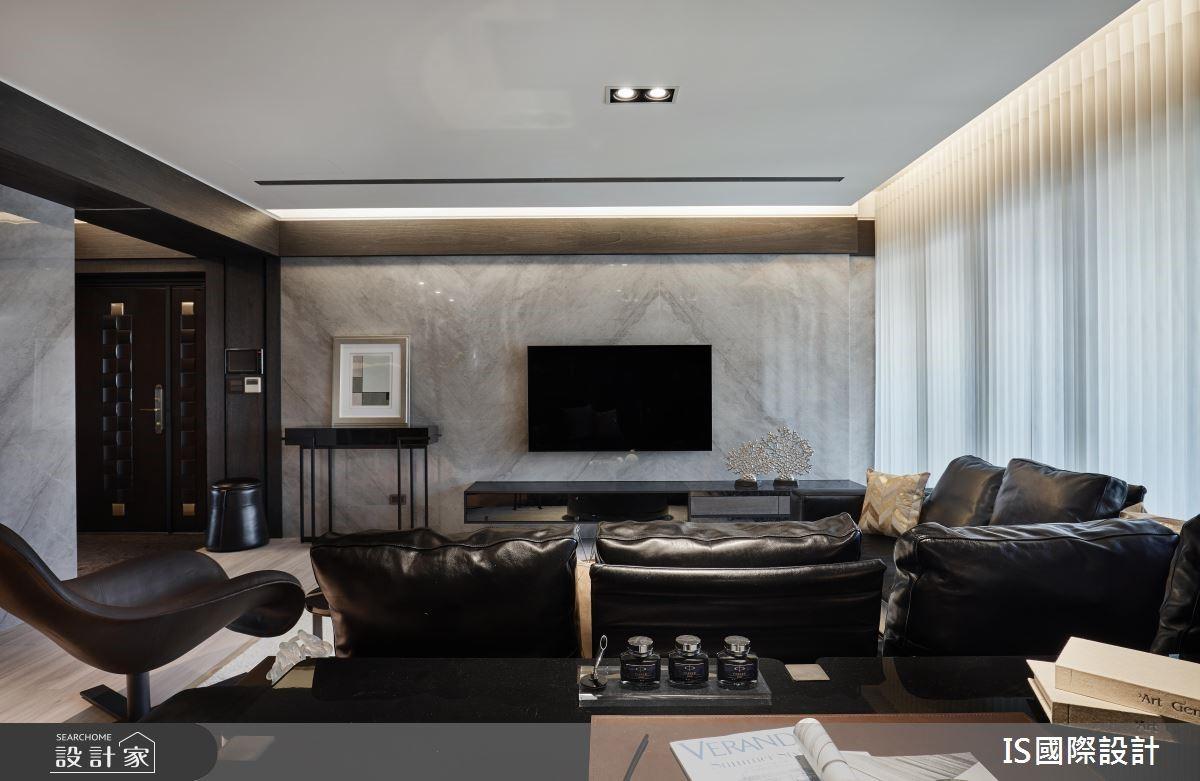 39坪新成屋(5年以下)_現代風客廳案例圖片_IS國際設計_IS_124之4