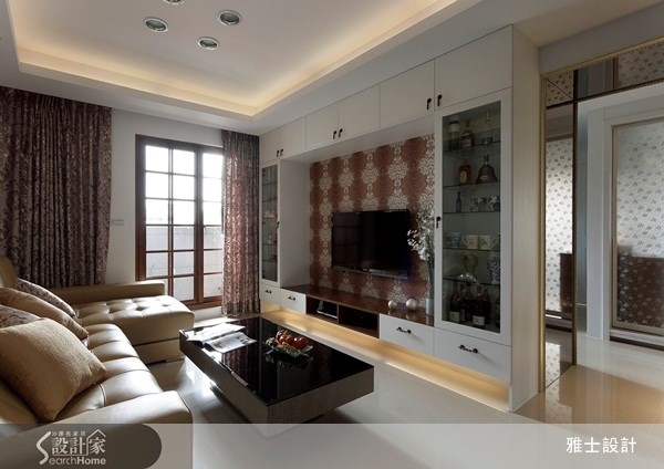 25坪新成屋(5年以下)_新古典案例圖片_雅士室內設計_雅士_15之4