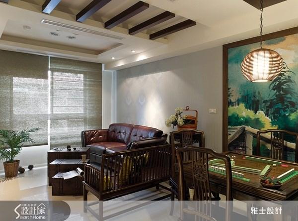 30坪新成屋(5年以下)_新中式風案例圖片_雅士室內設計_雅士_18之3